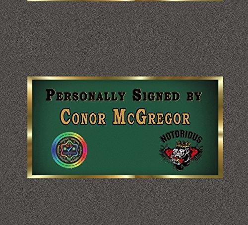 Conor McGregor UFC MMA SIGNED Autograph Sport Boxen Kuriositäten mit Rahmen Abbildung 3