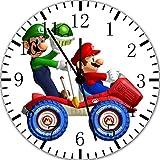 Super Mario Wanduhr 25,4cm Will Be Nice Gift und Raum Wand Decor x33