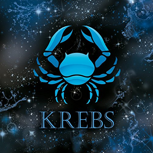 Apple iPhone 4 Housse Étui Silicone Coque Protection Crabe Signes du zodiaque Astrologie Étui en cuir bleu marine