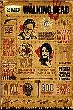 GB Eye The Walking Dead, Infographic Maxi-Poster, mehrfarbig, 61x 91,5cm