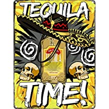 Cartel metálico Tequila time! 30,5x40,7cm