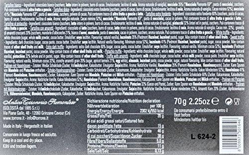 Antica Torroneria Piemontese  Tartufini gemsichte Trüffelpralinen in Geschenkbox aus Italien, 1er Pack (1 x 70 g)