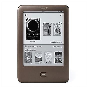 "Tolino Shine - E-Reader (15.24 cm (6""), E Ink, 1024 x 758"