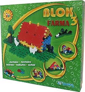 Vista Vista0305-4,Block 3 Farma Set de construcción (197 Piezas)