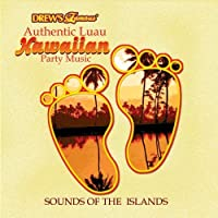 DF AUTHENTIC LUAU HAWAIIAN PARTY MUSIC CD by The Hit Crew (2009-02-01)