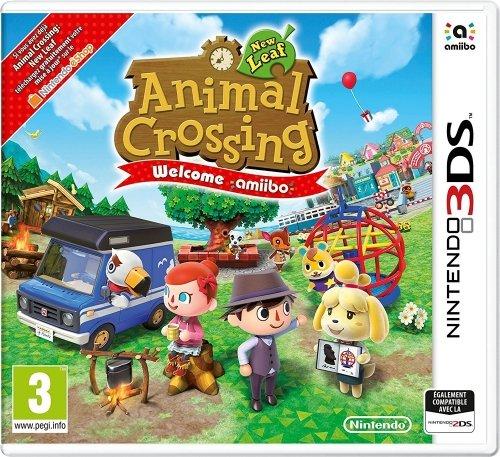 Nintendo Animal Crossing: New Leaf + Welcome Amiibo - Juego (Nintendo 3DS,...
