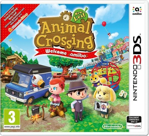 Nintendo Animal Crossing: New Leaf + Welcome Amiibo Básico + complemento Nintendo...