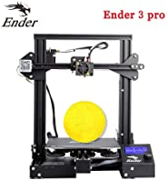 3IDEA Creality Ender 3 Pro 3D Printer with Removable Build Surface Plate and UL Certified Power Supply 220x220x250mm