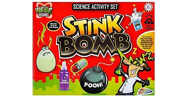 GRAFIX WEIRD SCIENCE Bombe Puante Kit Science Activité Set pour enfants