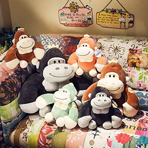 PANGDUDU Gorilla Puppe Niedlichen AFFE Plüschtier Kissen Große Rag Doll Puppe Junge Geburtstagsgeschenk, Farbe Kann Abgestimmt Werden, EIN Satz Von 3