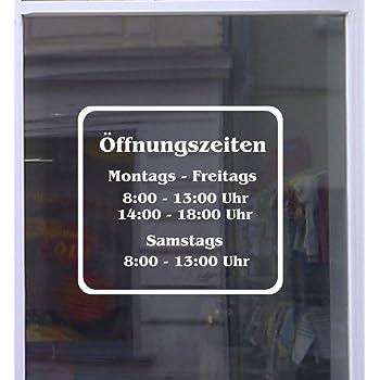 Amazon.de: PST-Schild - Unsere Öffnungszeiten - Schild