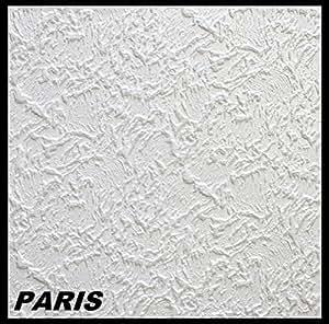 20 m² Deckenplatten Styroporplatten Stuck Decke Dekor Platten 50x50cm, PARIS