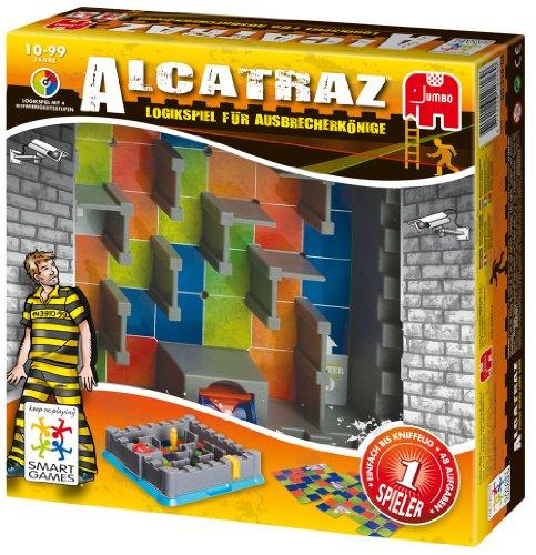 Jumbo Spiele Smartgames 12816 - Alcatraz, Gioco di strategia [Lingua tedesca]