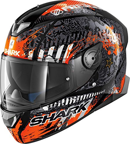 Shark Skwal II Switch Rider 2 S (55/56) Orange