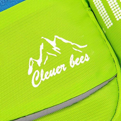Outdoor-wasserdichtes Nylon Gürteltasche Messenger Tasche kleine Brust Tasche Multi-Funktions 1