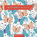 Butterfly Beauty 2017 - Schmetterlinge - Broschürenkalender (30 x 60 geöffnet) - Wandplaner