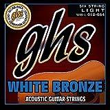 GHS WBL Jeu de 6 Cordes pour Guitare acoustique Light