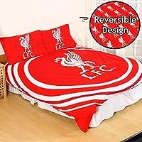 Liverpool F.C. 'Pulse' Reversible Double Duvet Quilt Cover Set