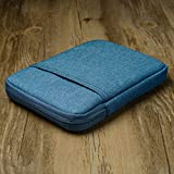 Woopower manica per Kindle Paperwhite/Kindle Voyage, 15,2 cm di tela borsa per Kindle Paperwhite, Kindle Voyage, Kindle 558/958/kV e-reader della custodia, blue