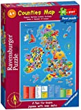 Ravensburger Counties Map Giant Floor Puzzle (60-Piece)