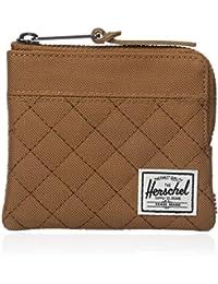 Herschel Supply Co. Men's Johnny Zippered Pouch Wallet Caramel Brown
