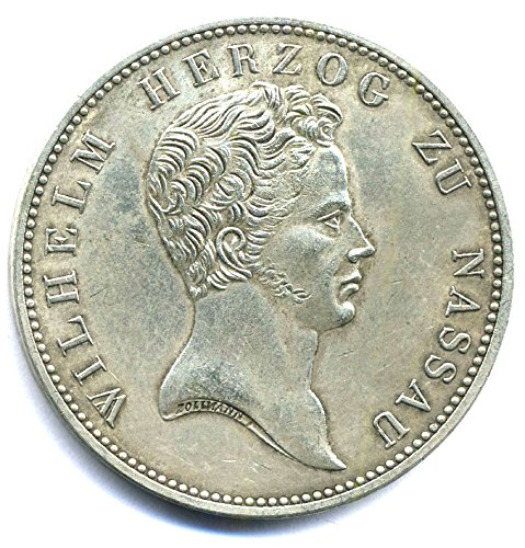Münze 1836 - 1 Kronentaler - Altdeutschland - Herzog Wilhelm zu Nassau Replica