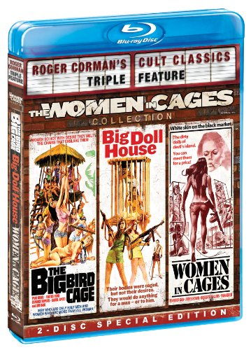 The Women in Cages Collection (Roger Corman's Cult Classics Triple Feature) (The Big Bird Cage / Big Doll House / Women in Cages) - Blu House Doll Ray