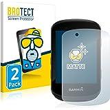 BROTECT 2x Antireflecterende Beschermfolie compatibel met Garmin Edge 530 / Edge 830 Anti-Glare Screen Protector, Mat, Ontspi