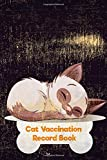 Cat Vaccination Record Log Book