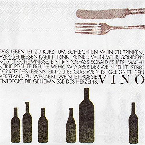 P.e.T. Vino Weinserviette Vino