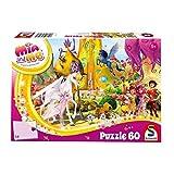 Schmidt Spiele Puzzle 56296 Mia & Me, Phuddles Klebonadeprozessor, 60 Teile Kinderpuzzle