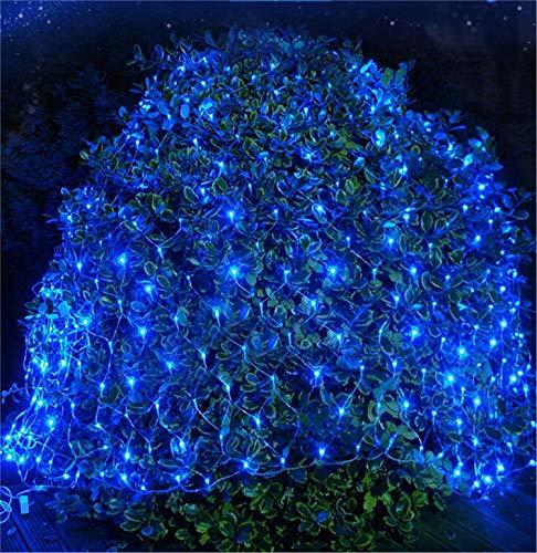 ng Feenlichter LED Fischernetz Stern Außen Wasserdicht Net Light Shop Grass Festival Hochzeit Dekoration Weihnachten Net Light ()