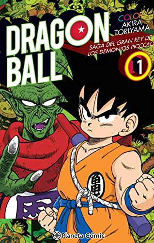 Dragon Ball Color Piccolo nº 01 (Manga Shonen)