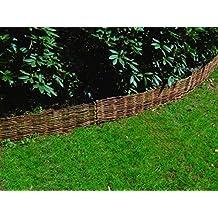 Lust Ideen aus Blech Rasenkante Beeteinfassung Beetkante Set 8 x 118 x 20 cm /…