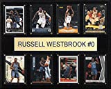 C & I Collectables NBA Oklahoma City Thunder Russell Westbrook (Gefaltet Plaque, 12 x 15 Zoll