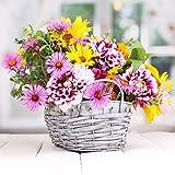 20 Servietten Prächtiger Blumenkorb / Blumen / Frühling / Sommer 33x33cm
