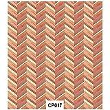 Craft Consortium Chev Burnt-decoupage Papier 3/PK