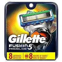 Gillette Fusion ProGlide Power Men's Razor Blade Refills, 8 Count