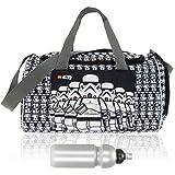LEGO Sporttasche Kinder Sports Bag Kindertasche Tasche 20026 + Trinkflasche (Star Wars Stormtrooper 1829)