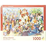 New York Puzzle: King Santa 1000pc Puzzle by New York Puzzle