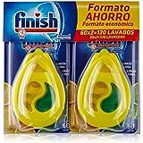 Finish lavavajillas ambientador Limón 60 lavados Duplo