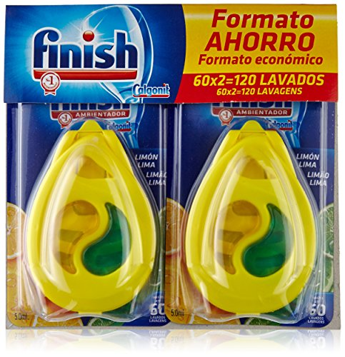 Finish Dishwasher Freshener Lemon - 60 washes duplo (120 washes)