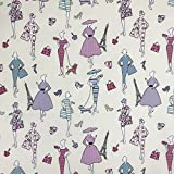 Glamour Candy Design 100% Lifestyle Baumwolle Print