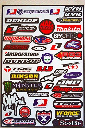 planche-de-42-stickers-autocollant-couleur-multiples-monster-ama-supercross-vforce-one-industries-et