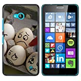 OB-star ( huevos Humor ) NOKIA Lumia 640 Impreso Colorido Protector Duro Espalda Funda Piel De Shell