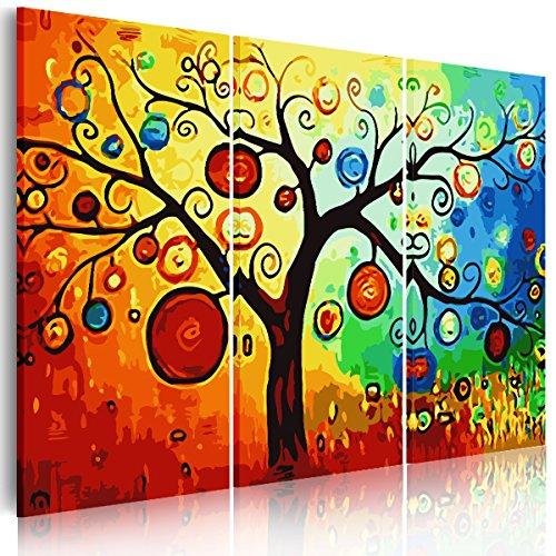 rain-queen-97x60cm-xxl-hd-impression-sur-toile-nature-bois-chassis-multicolor-fruits-arbre-wall-art
