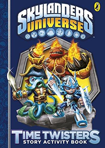Skylanders: Time Twisters Story Activity Book (Skylanders Giant Hot Head)