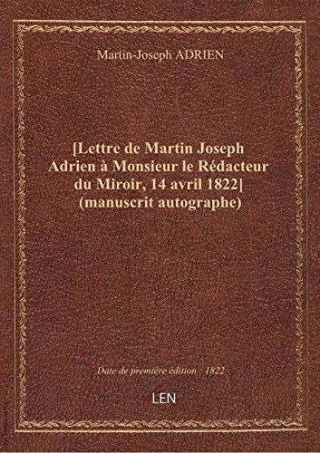 Monsieur Du Miroir [Pdf/ePub] eBook
