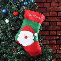 DAMENGXIANG El Árbol De Navidad Navidad Santa Claus Botas Calcetín Colgante Bolsa De Golosinas De Regalo