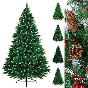 Albero di Natale artificiale TREEDITION in different misure e colori Colore:Verde medio - Zucchero a velo; 180 cm (1.030 punte)